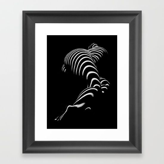 Bbw sensual legs hips and ass of a large woman big beautiful art nude black and white framed art print