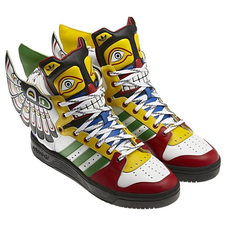 Jeremy Scott X Adidas Eagle Wing Shoes