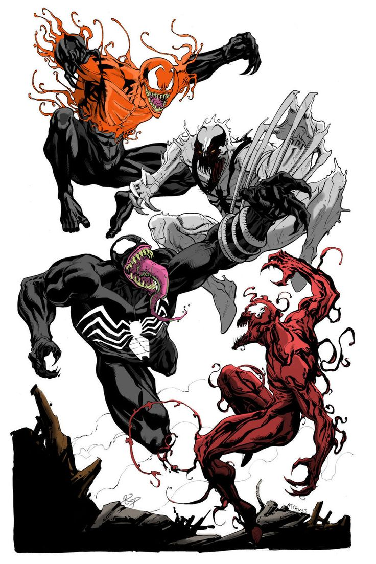 Venom,Toxin,Carnage and, SpiderMan slideshow