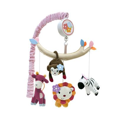 Lambs & Ivy Jelly Bean Jungle Musical Mobile