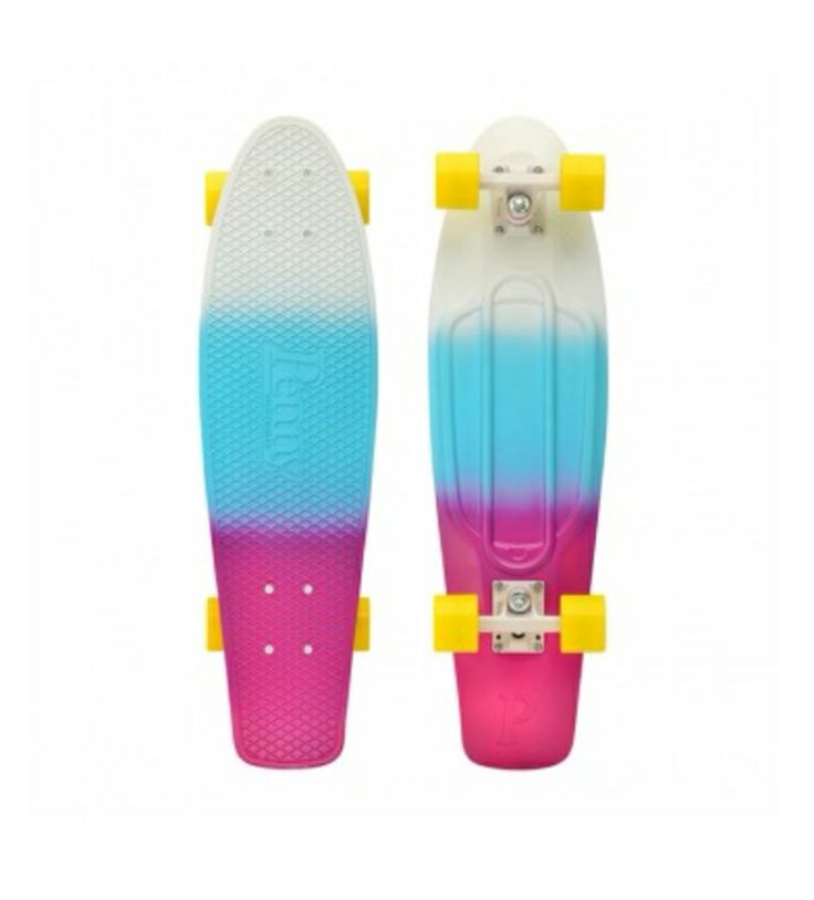 Penny board new fade style I him so happy I got this board today aah!!!!!!