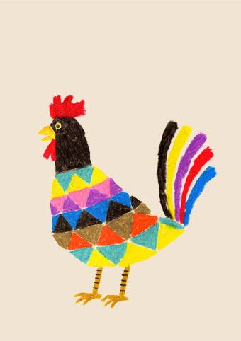 fantastic funky rooster!
