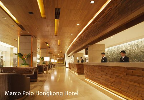 Marco Polo Hongkong Hotel -The Marco Polo Hongkong Hotel boasts an outdoor swimming pool, a lobby lounge, an all-day dining outlet, and theme restaurants on Level 6 including Cucina which showcases Western and Asian open kitchens with stunning views of the harbourfront.