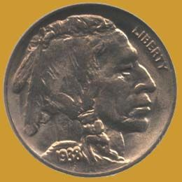 Buffalo Nickle - 1938