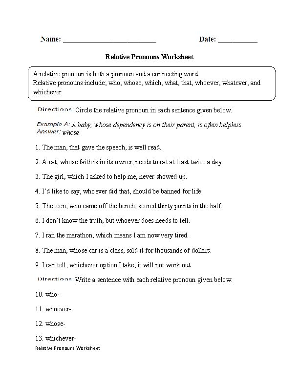 Printable Worksheets worksheets for substitute teachers : 14 best pronouns worksheets images on Pinterest | Pronoun ...