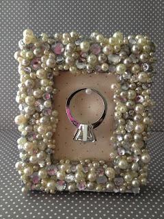 DIY Picture Frames : DIY Picture Frame Ring Holder