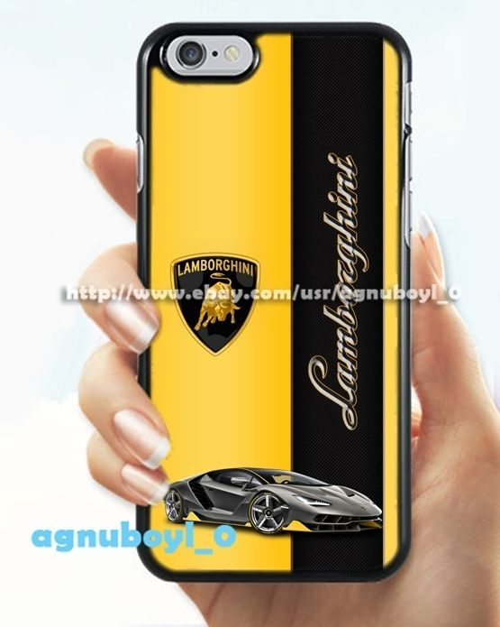 Lamborghini Automotive Cute Design For iPhone 6 6s 7 7+ Print On Hard Plastic #UnbrandedGeneric #Top #Trend #Limited #Edition #Famous #Cheap #New #Best #Seller #Design #Custom #Gift #Birthday #Anniversary #Friend #Graduation #Family #Hot #Limited #Elegant #Luxury #Sport #Special #Hot #Rare #Cool #Cover #Print #On #Valentine #Surprise #iPhone #Case #Cover #Skin