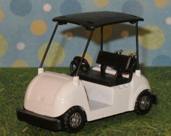 Golf Cart Cake Topper    (Diecast)  Golf Cart Cake Decoration, Golf Cart