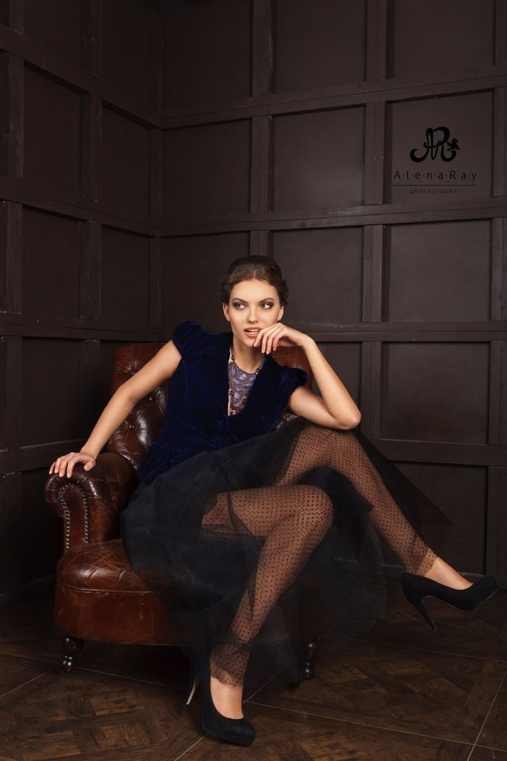 "Necklace ""Enchantment Charoite."" Design by Yulia Logvinova."