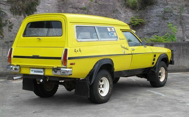 The Holden Overlander Sandman Panel Van.