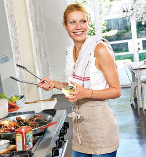 Follow the link for Gwyneth's healthy pantry shopping list.