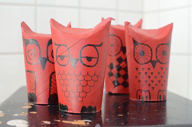 Ugglor i köket! Enkelt och roligt pyssel / DIY | Hemma med Helena | Amelia bloggar
