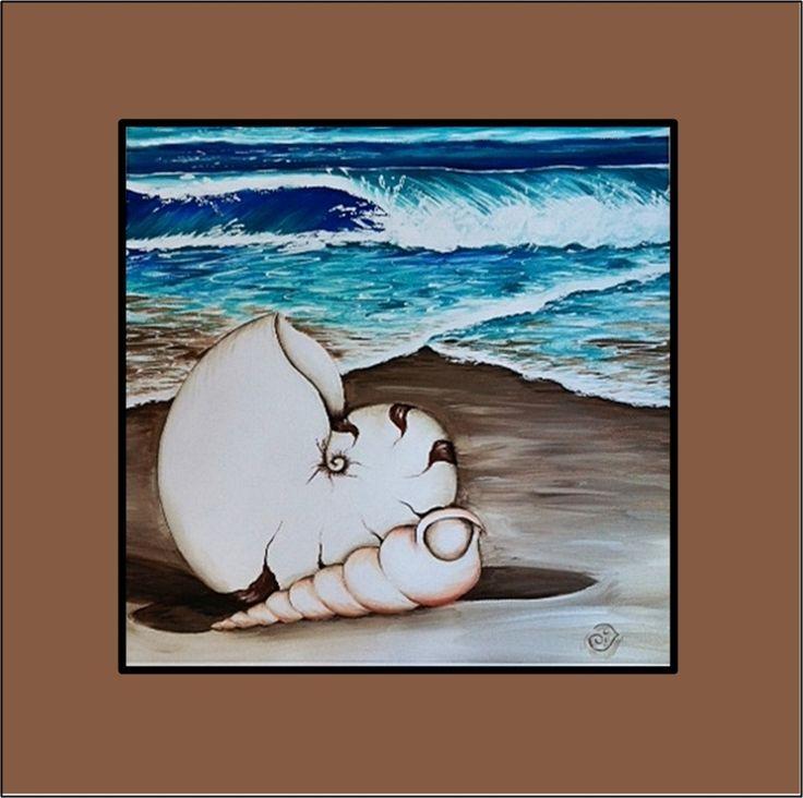 The Gecko Shack - 800 x 800 Australian Made Beach Scene canvas, $249.00 (http://www.geckoshack.com.au/800-x-800-australian-made-beach-scene-canvas/)