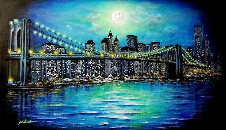 Resultado de imagen para cuadros oleo nueva york