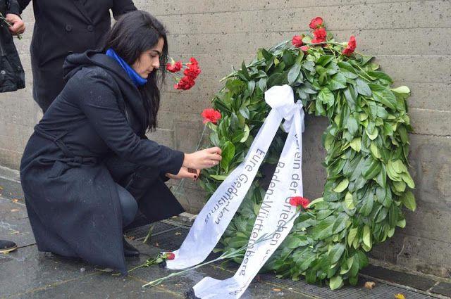 e-Pontos.gr: Οι Πόντιοι της Γερμανίας τίμησαν την μνήμη των θυμ...