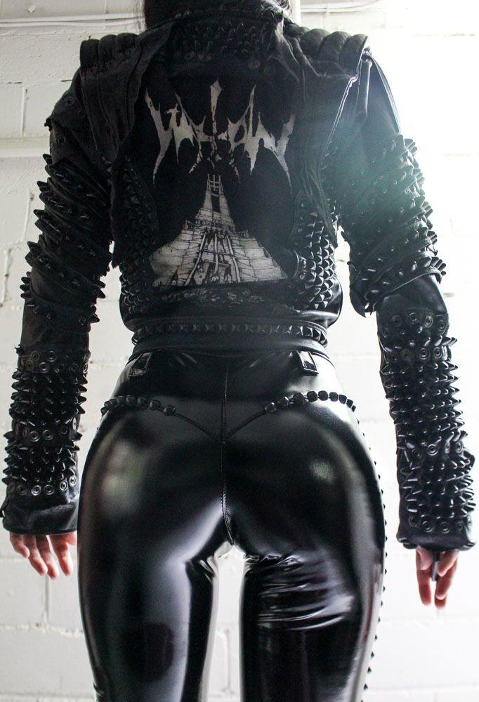 TOXIC VISION Watain biker jacket   Toxic Vision
