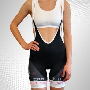 Conventional, most popular shape of bib shorts with built-in braces.