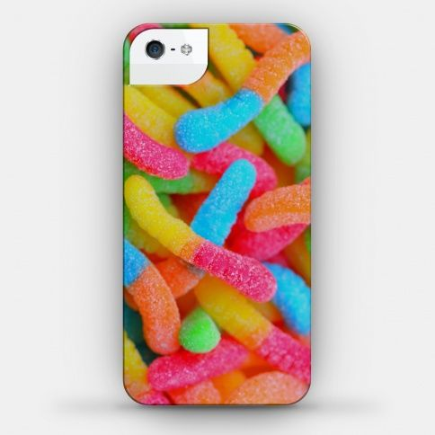 I would crave sour gummy worms every day if I had this phone case