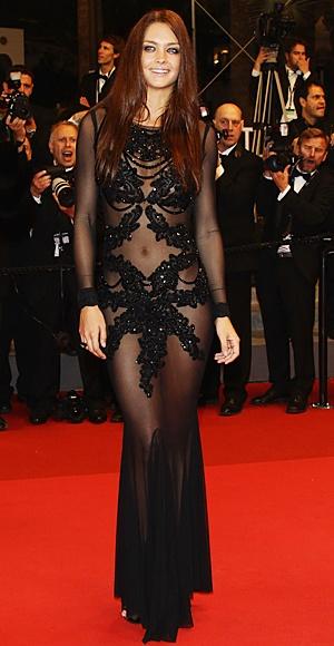 gavin rajah gown: Fashion, Cannes, Dresses, Star, Festival, Wear, Black, Candice Boucher