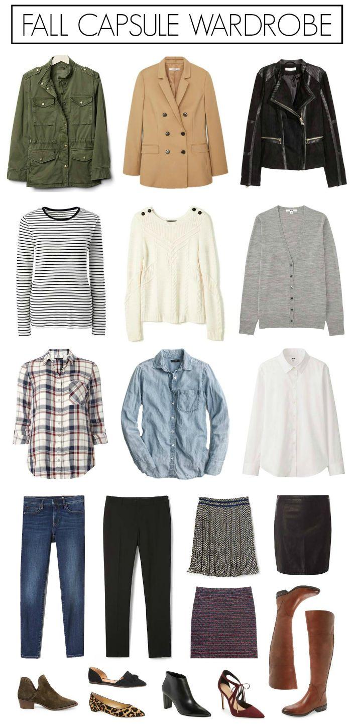 Fall Wardrobe Essentials (Penny Pincher Fashion