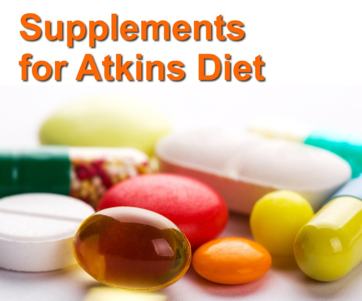 Guide to supplements recommended by Dr Atkins