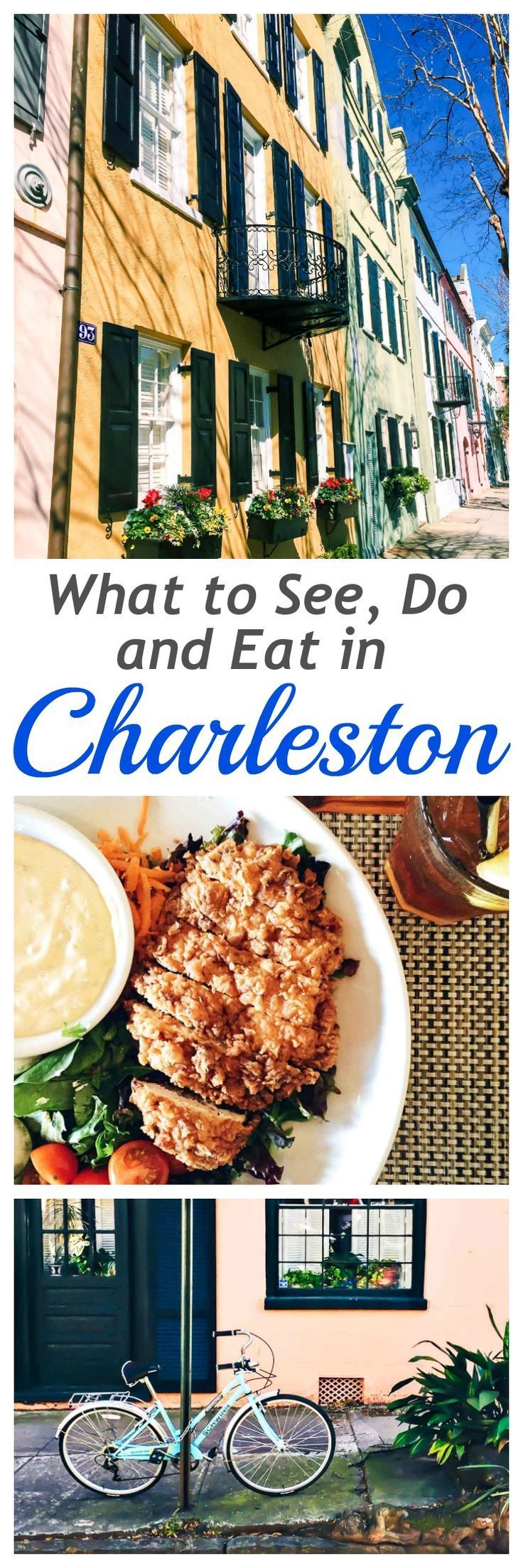 What to See do and Eat in Charleston, South Carolina. Things to do, where to stay, and best restaurants! http://www.wellplated.com /wellplated/