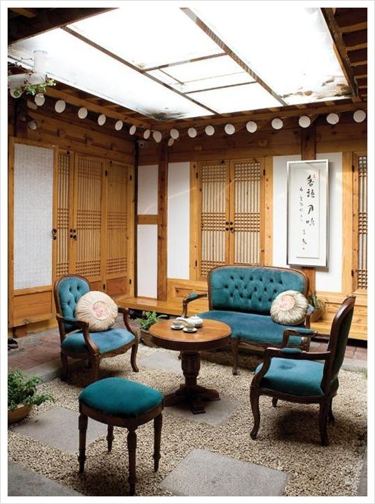 Yes. I want to incorporate Korean traditional housing style with modern style.