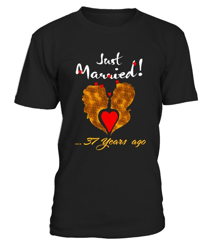 Top Gift Great T Shirt For 37th Wedding Anniversary 35th