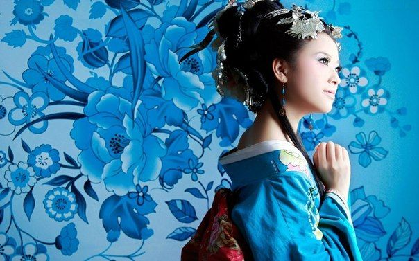 Не секрет, что Гейша - символ женской красоты и отношения к себе в Японии. | Макияж глаз