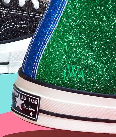 Fashion-News: Es gibt jetzt Glitzer-Chucks von Converse
