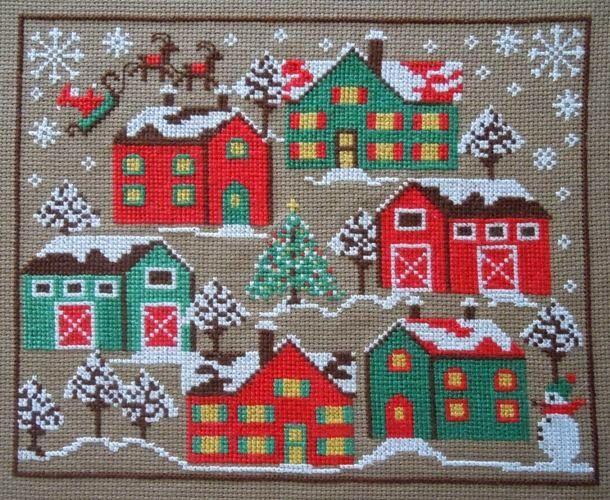gazette94: UN NOËL SOUS LA NEIGE - adorable free Christmas village