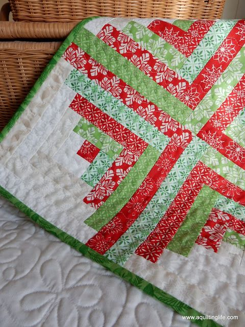 My First Quilt (and Giveaway Day 1)!