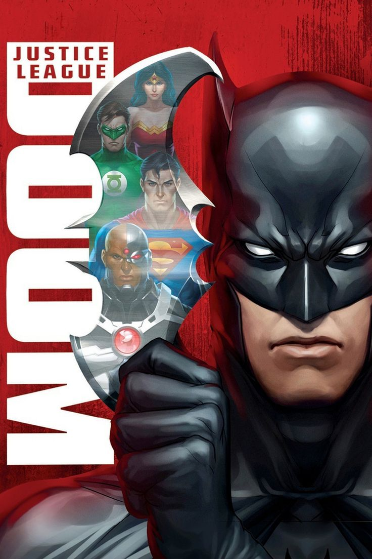Justice League: Doom movie poster