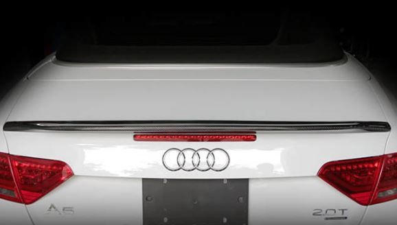 Aggressiv Carbon Fiber Spoiler- Audi A5  #Audi #turbocharger #rosstech #forge #spulen #gofastbits #intercooler #hep #hidlights #Porsche #turbochargers #eurocodetuning #Volkswagen #snowperformance #atpturbo  New Arrivals!   Make sure to use your valued customer discount code ----> SPPMYDISCOUNT  Worldwide shipping available.