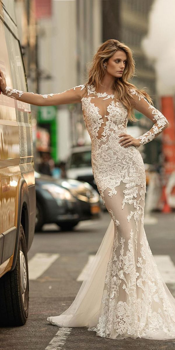 24 Unique & Hot Sexy Wedding Dresses ❤ See more: http://www.weddingforward.com/sexy-wedding-dresses-ideas/ #wedding #sexy #dresses