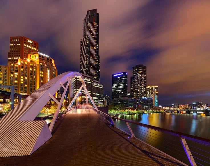 Yarra Footbridge Melbourne Australia