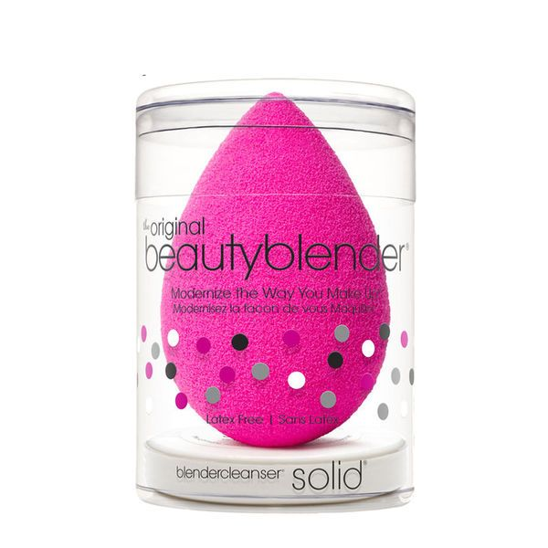 original beautyblender + mini blendercleanser solid, , large
