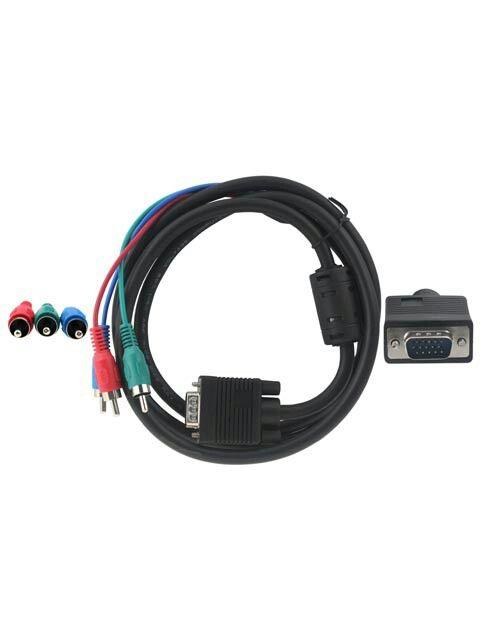 Kabel VGA to RGB 1.5M - Kabel VGA to RGB ( merah, biru, hijau ) - Panjang 1.5 meter Harga Rp40.000 Info detail di : www.tokomipo.com