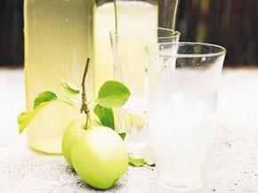 Kokt äppelsaft med kanel