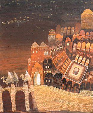 Czech Books The magical world of children's book illustrator Štěpán Zavřel