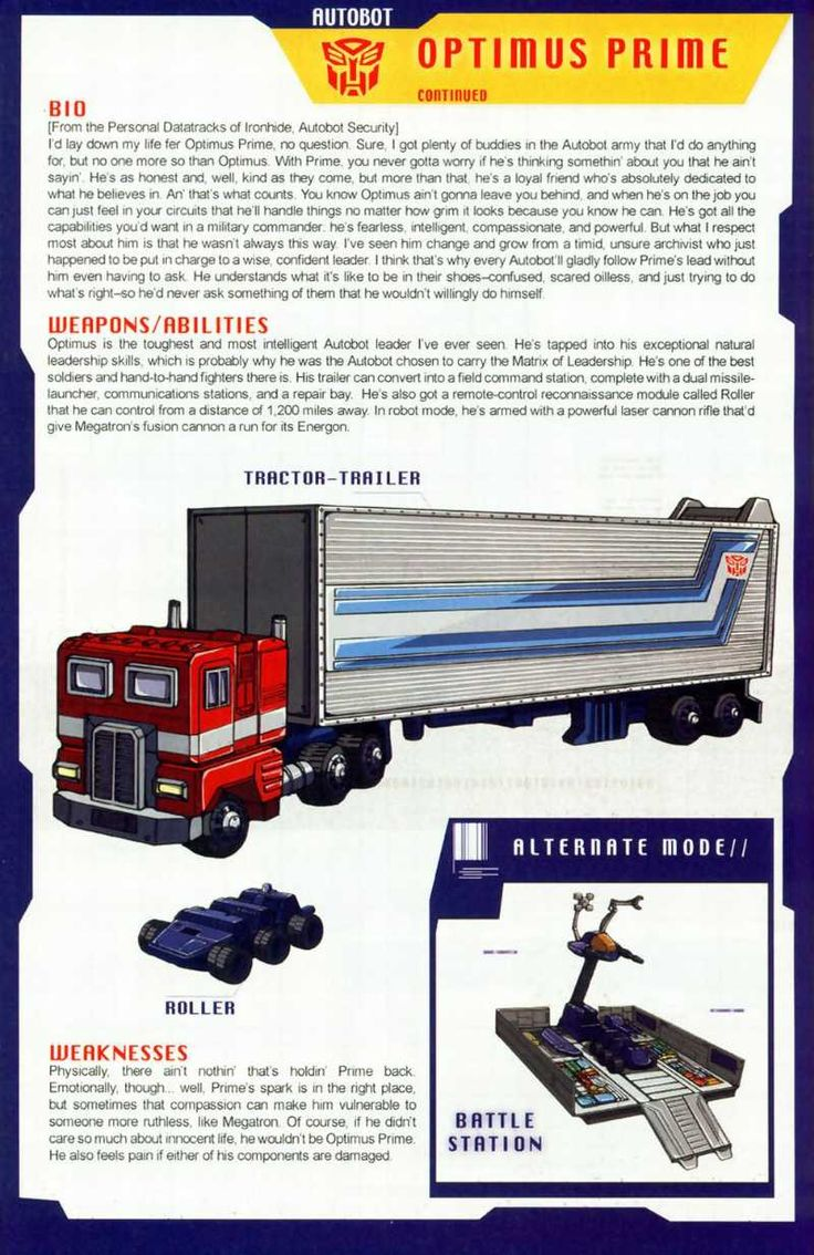 Transformers Universe - Gallery: G1 Optimus Prime