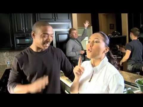 Ja Rule and Adrienne Bailon as Miles Montego and Vanessa Leon