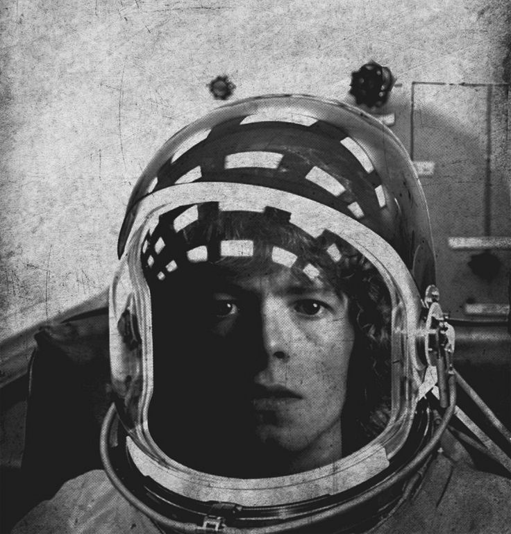 "retrofutureground: "" Ground control to Major Tom. Take your protein pills and put your helmet on."