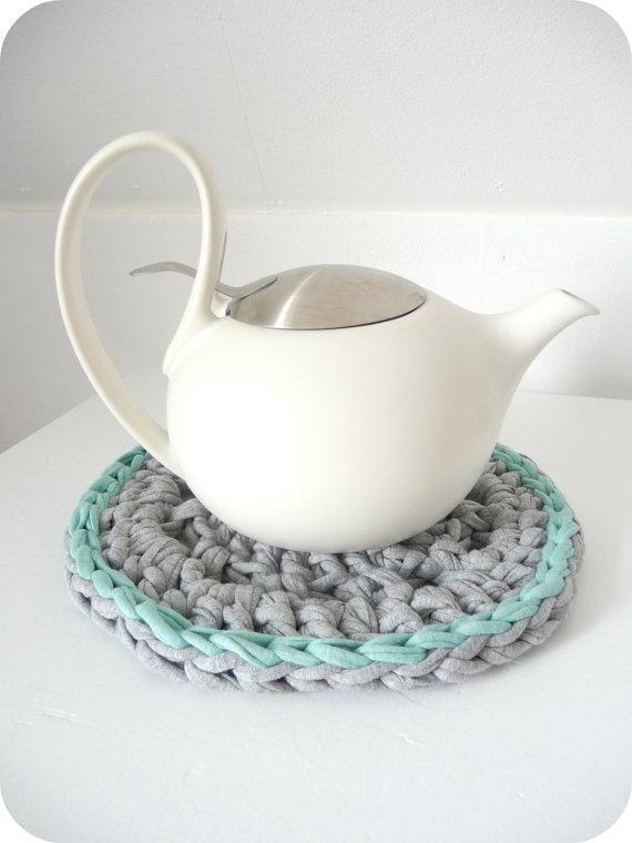 zpagetti coaster + yasmin teapot