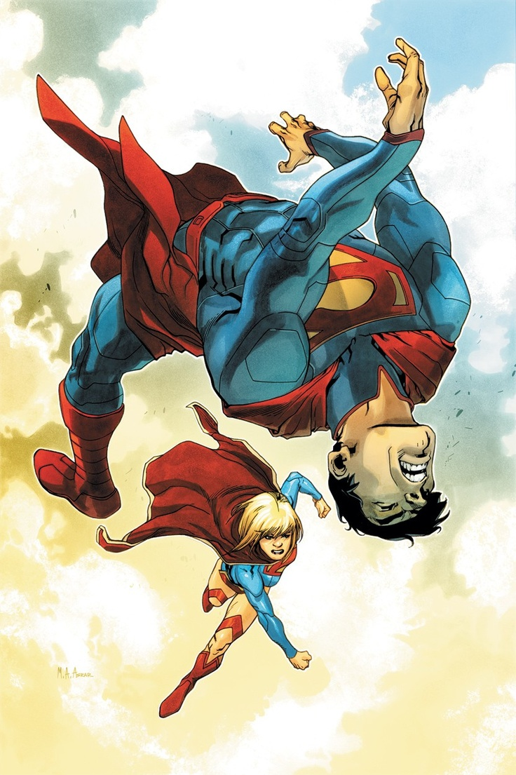 Superman vs Supergirl.