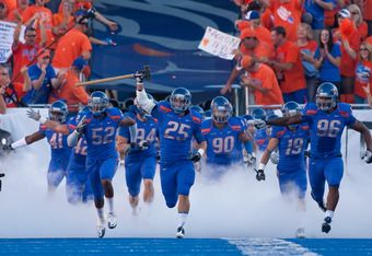 Boise State Broncos  College Cheerleading Stunts | Boise State Football: Will the Broncos Be Remembered as Awesome or ...