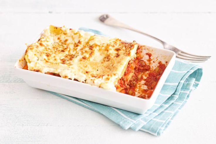 Ieder zijn eigen lasagne! Glutenvrije lasagne bolognese - Recept - Allerhande