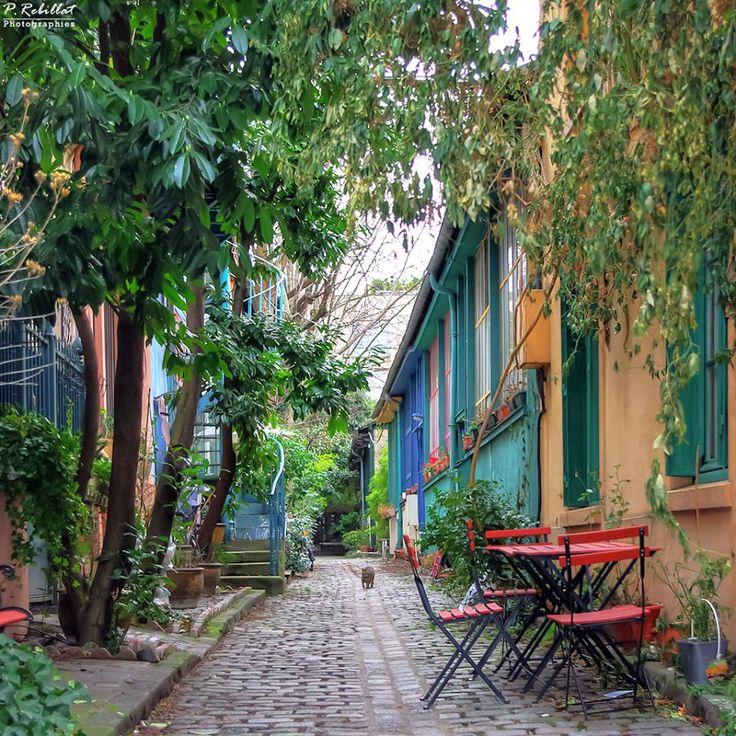 Paris XIII - Ancienne cité d'artistes #Paris