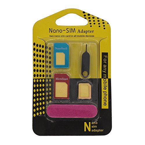 Product Description Product Features: Nano SIM to Micro SIM Adapter Nano SIM to Standard SIM Adapter Micro SIM to Standard SIM Adapter Be #Note: 1. SIM #card can...