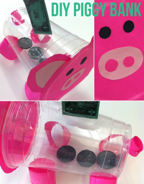 Classroom management pigs! Reward students with play coins (take away for negative behavior).